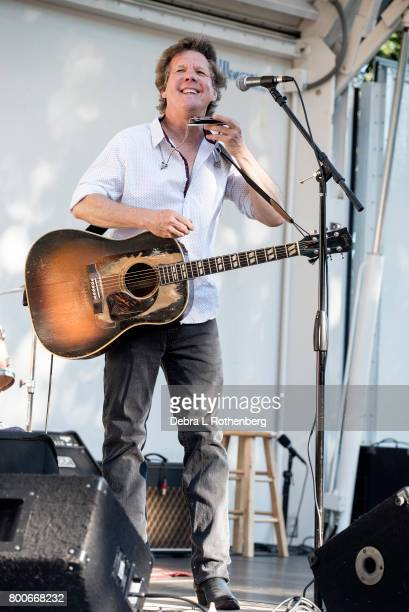 Steve Forbert performs at the Rockland-Bergen Music Festival at German Masonic Park on June 24, 2017 in Tappan, New York.