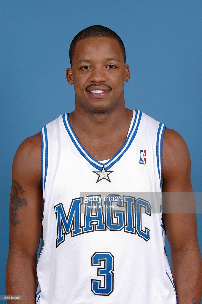Steve Francis #3 of the Orlando Magic poses for a head shot at the TD Waterhouse Centre on October 3, 2005 in Orlando, Florida.