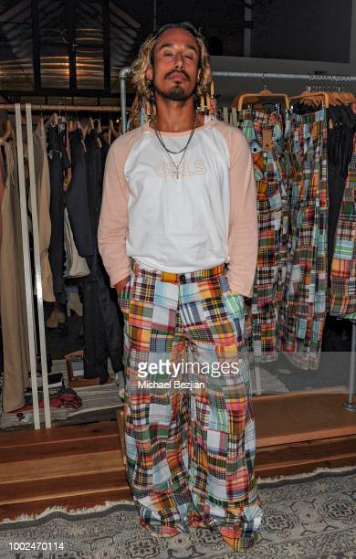 Steve Galindo attends Kindom Summer Soiree at Alchemy Works on July 19 2018 in Los Angeles California