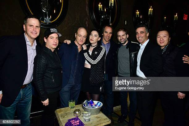 Steve Galle Charlie Walk of Republic Records David Massey President/ CEO of Island Records Bishop Briggs Monte Lipman of Republic Records Jay Frank...