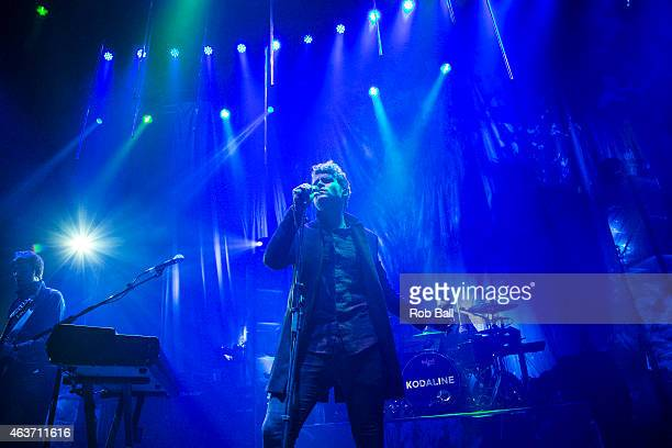 Steve Garrigan from Kodaline performs on stage at The Roundhouse on February 17, 2015 in London, United Kingdom