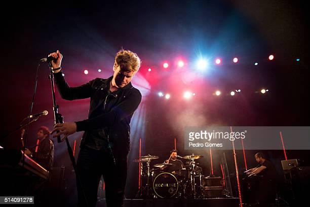 Steve Garrigan of Kodaline performing on February 25 2016 in Lisbon Portugal