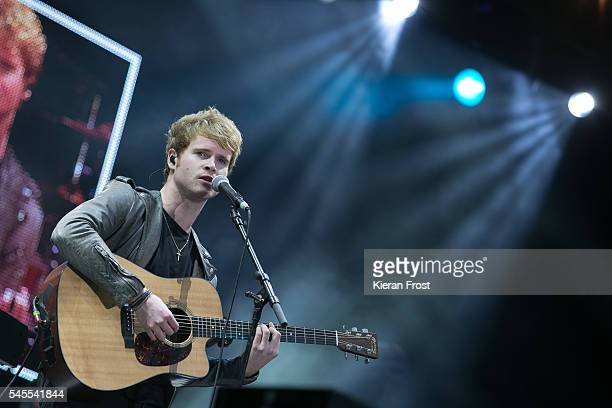 Steve Garrigan of Kodaline performs at Marlay Park on July 8 2016 in Dublin Ireland