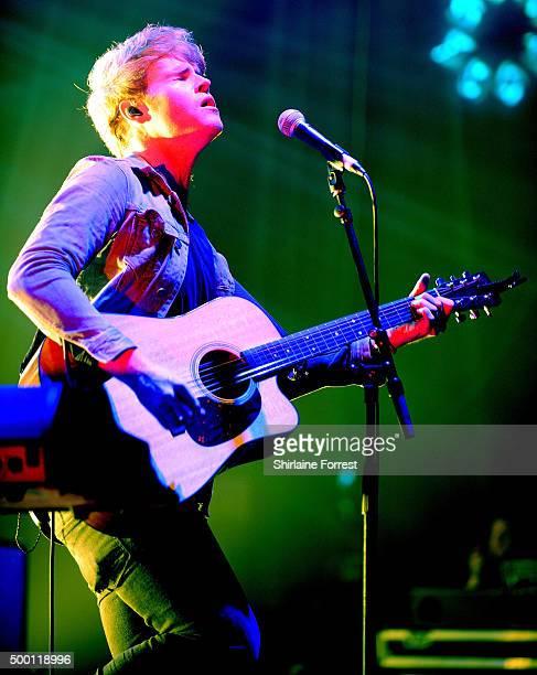 Steve Garrigan of Kodaline performs at O2 Apollo, Manchester on December 5, 2015 in Manchester, England.