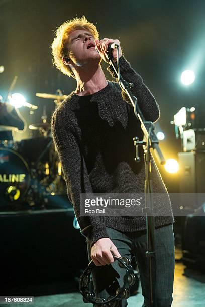 Steve Garrigan of Kodaline performs at Shepherds Bush Empire on November 10, 2013 in London, England.