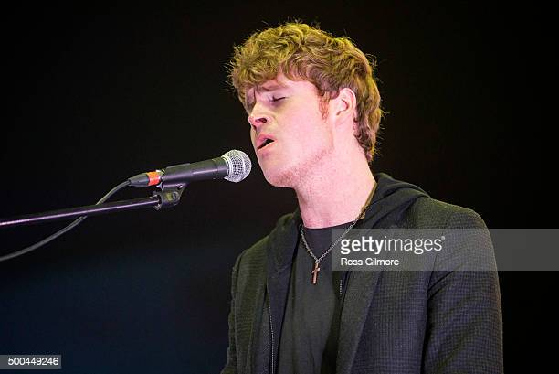 Steve Garrigan of Kodaline performs at the Clyde 1 Live event at The SSE Hydro on December 8 2015 in Glasgow Scotland