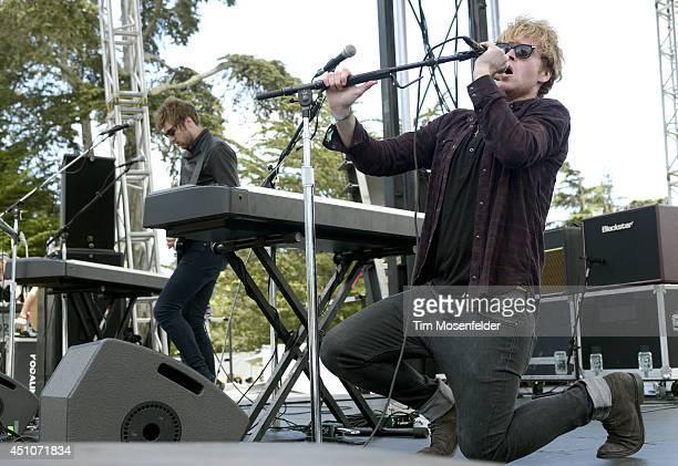 Steve Garrigan of Kodaline performs during Alice 97.3's Summerthing at Sharon Meadow in Golden Gate Park on June 22, 2014 in San Francisco,...