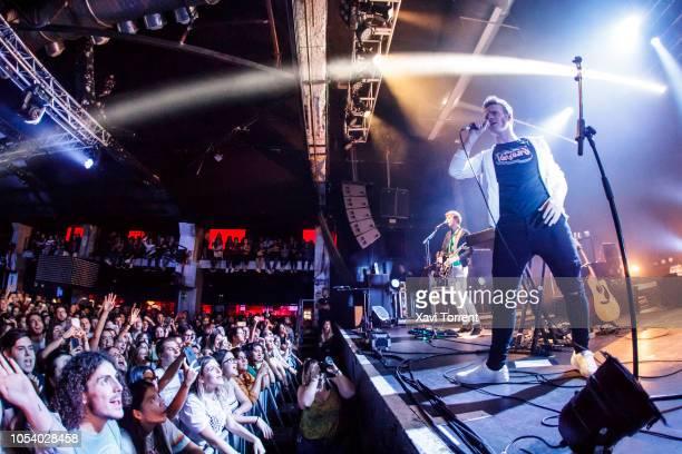 Steve Garrigan of Kodaline performs in concert at Razzmatazz on October 26, 2018 in Barcelona, Spain.