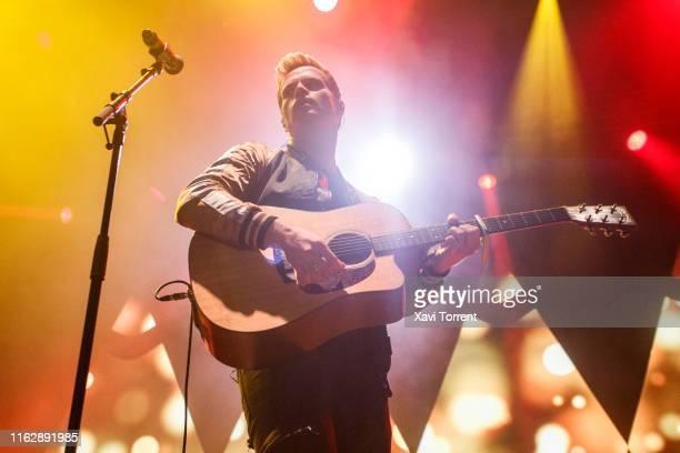 Steve Garrigan of Kodaline performs in concert during the Festival Internacional de Benicassim on July 18, 2019 in Benicassim, Spain.