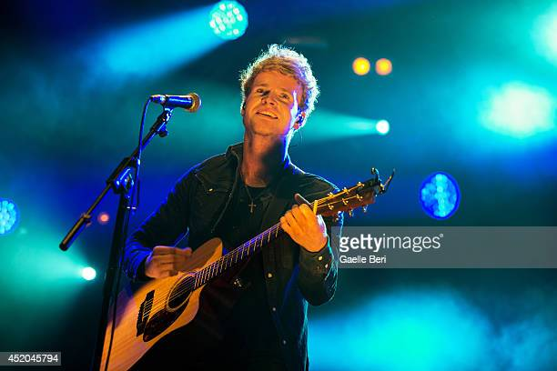 Steve Garrigan of Kodaline performs on stage at Summer Series 2014 at Somerset House on July 11, 2014 in London, United Kingdom.