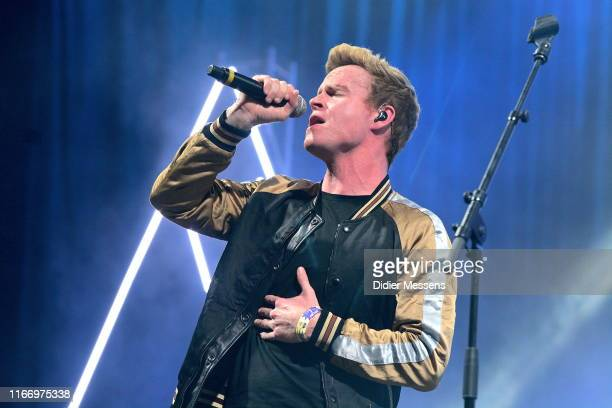 Steve Garrigan of Kodaline performs on stage at Sziget Festival on August 7, 2019 in Budapest, Hungary.
