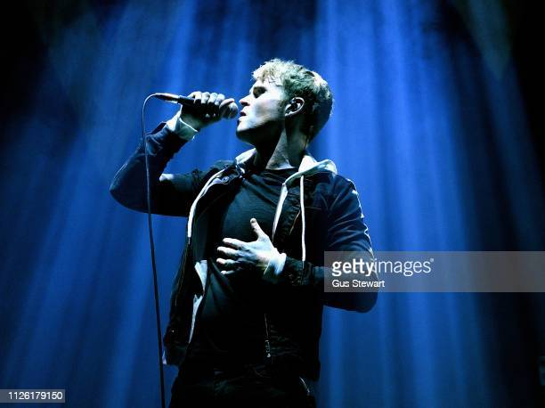 Steve Garrigan of Kodaline performs on stage at The O2 Arena on January 26, 2019 in London, England.