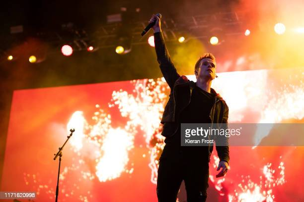 Steve Garrigan of Kodaline performs on stage during Electric Picnic Music Festival 2019 at on September 1, 2019 in Stradbally, Ireland.