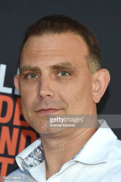"""Steve Golebiowski attends the Closing Night Screening of """"Nomis"""" during the 2018 LA Film Festival at ArcLight Cinerama Dome on September 28, 2018 in..."""