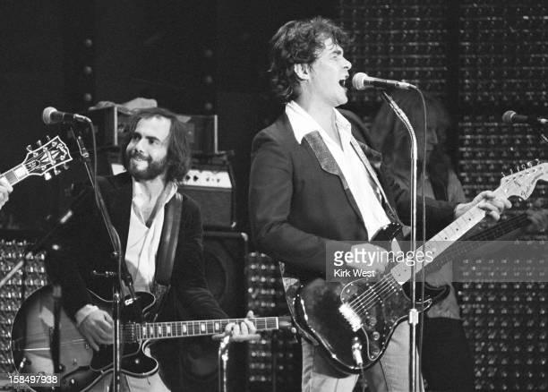 Steve Goodman and John Prine perform at Park West Chicago Illinois September 24 1978