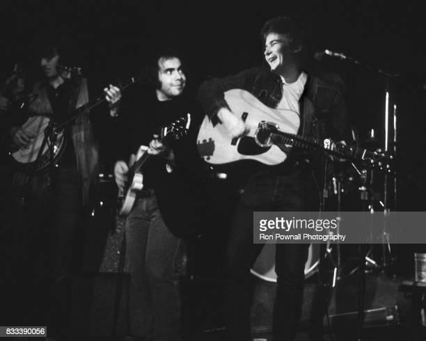 Steve Goodman and John Prine perform at The Telagi music club in October 1972 in Boulder Colorado