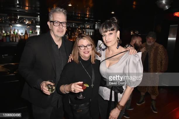 "Steve Gorman, Catherine McGann and Jenny Dembrow attend Adam Bravin & Bryan Rabin's Giorgios Presents ""THE CLUB KIDS"" By Walter Cassidy West Coast..."
