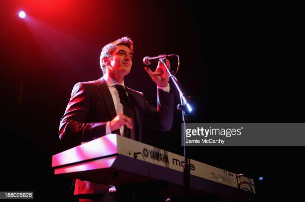 Steve Grand performs onstage at the 19th Annual Out100 Awards presented by Buick at Terminal 5 on November 14 2013 in New York City