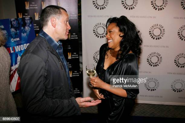 Steve Guttenberg and Lynn Whitfield attend The Paley Center and Showtime premiere of Barry Levinson's Poliwood at The Paley Center on October 29 2009...