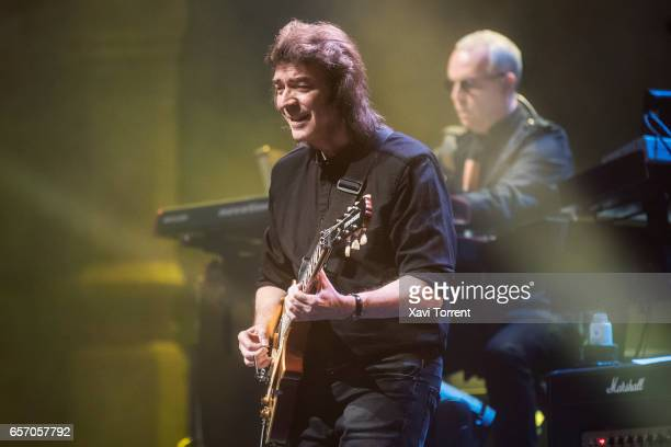 Steve Hackett performs in concert at Gran Teatre del Liceu during Suite Festival on March 23 2017 in Barcelona Spain