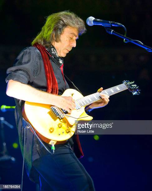 Steve Hackett performs on stage at Royal Albert Hall on October 24 2013 in London England