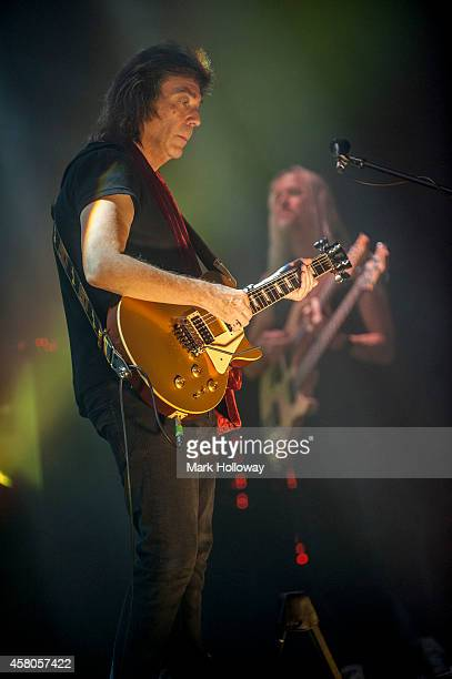 Steve Hackett performs on stage at Southampton Guildhall on October 29 2014 in Southampton United Kingdom