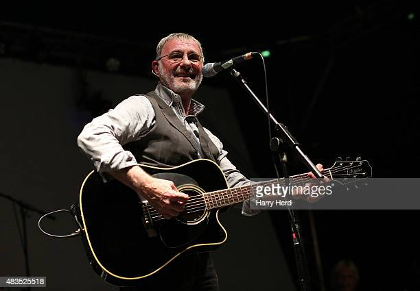 Steve Harley and Cockney Rebel perform on Day 4 of Wickham Festival on August 9 2015 in Wickham England