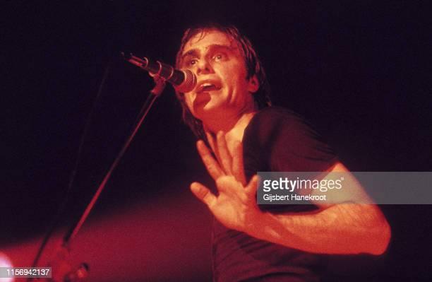 Steve Harley of Cockney Rebel performs on stage in Amsterdam Netherlands 1974