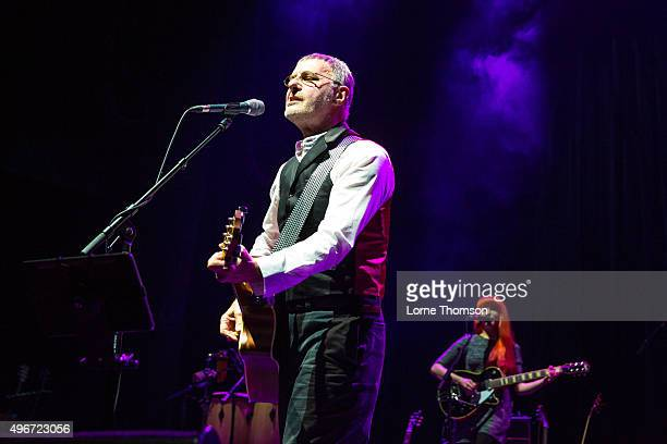 Steve Harley performs at Indigo2 at The O2 Arena on November 11 2015 in London England