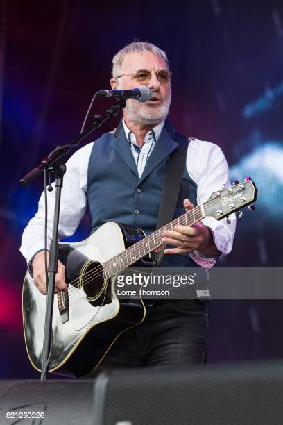 Steve Harley performs on Day 3 of Rewind Festival at Scone Palace on July 23 2017 in Perth Scotland