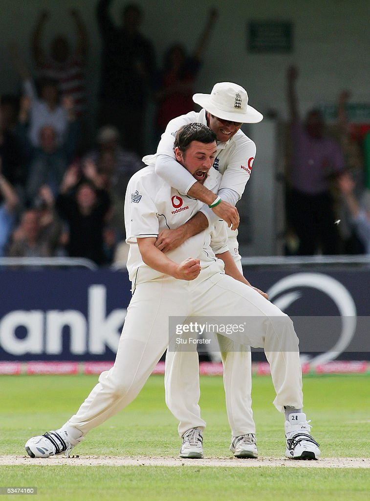 Fourth Test: England v Australia - Day Four : News Photo