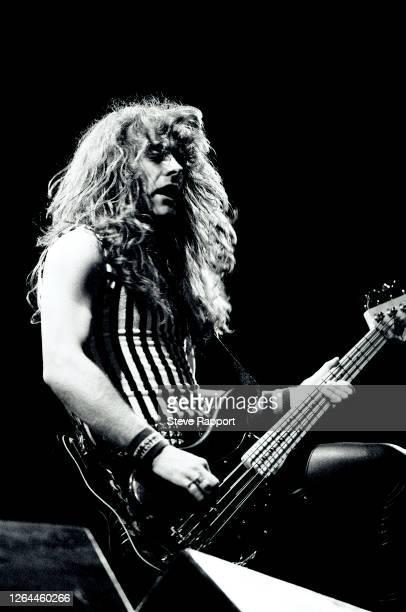 Steve Harris of Iron Maiden Reading Festival 8/29/82