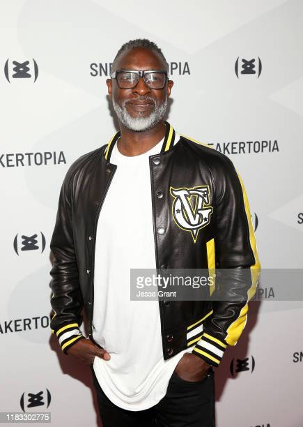 Steve Harris Sneakertopia CEO Cofounder attends the Sneakertopia Los Angeles VIP Preview at HHLA on October 24 2019 in Los Angeles California