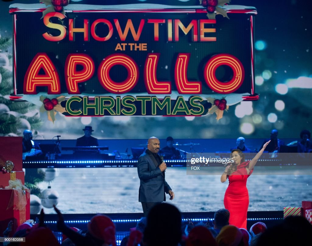 "NY: FOX's ""Showtime at The Apollo - Christmas"""