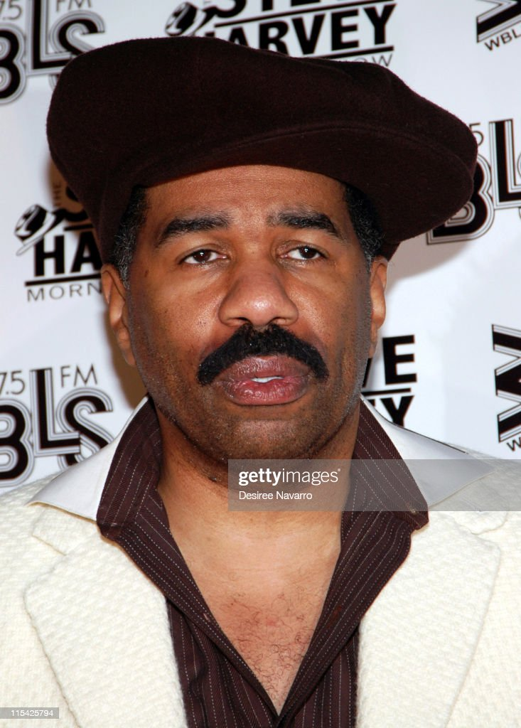 Steve Harvey during 'Don't Trip...He Ain't Through With Me Yet' New York Premiere at Magic Johnson Harlem Theate in New York City, New York, United States.
