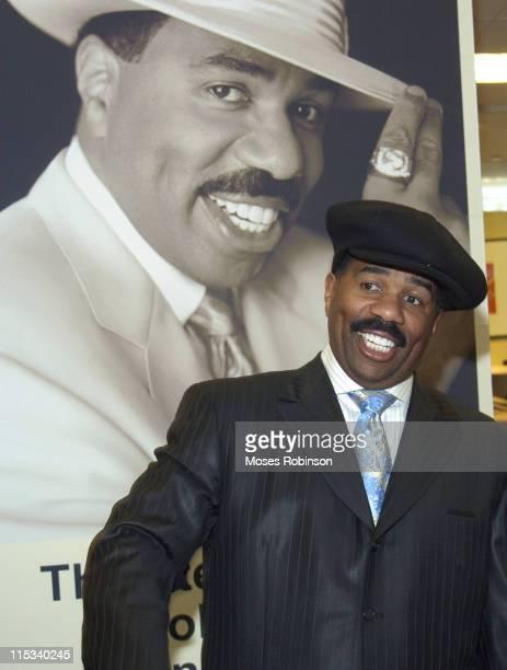 Steve Harvey during Steve Harvey Showcase his new Clothing Line at Lennox Mall - Macys in Atlanta, GA, United States.