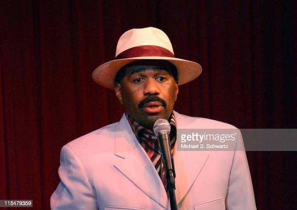Steve Harvey during The Comedy Store Hosts Celebrity Fundraiser for the Heartfelt Foundation - Show at The Comedy Store in Hollywood, California,...