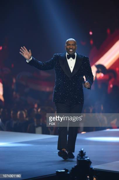 Steve Harvey hosts the 2018 MISS UNIVERSE competition airing live from Bangkok Thailand on Sunday Dec 16 on FOX