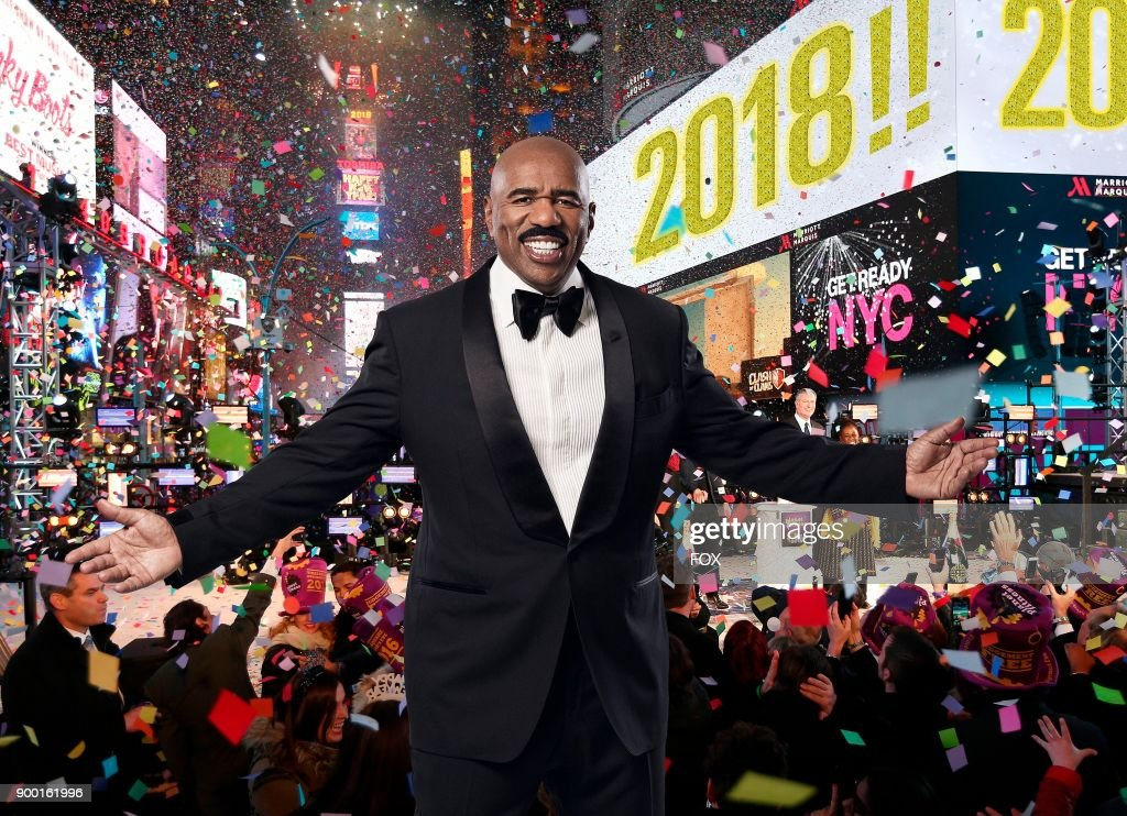 NY: FOX's Coverage of New Year's Eve with Steve Harvey