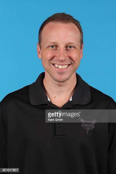 Steve Hetzel of the Charlotte Hornets poses for a portrait during 2014 NBA Media Day on September 29 2014 at Charlotte North Carolina NOTE TO USER...