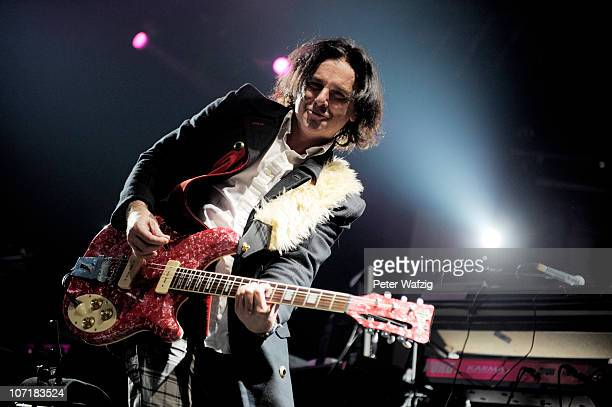 Steve Hogarth of Marillion performs on stage at the Grugahalle on November 28 2010 in Essen Germany