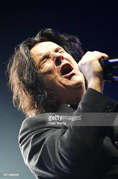 Steve Hogarth of Marillion performs on stage at the Grugahalle on November 28, 2010 in Essen, Germany.