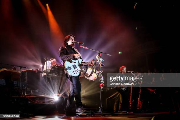 Steve Hogarth of Marillion performs on stage at The Royal Albert Hall on 13 October 2017 in London England