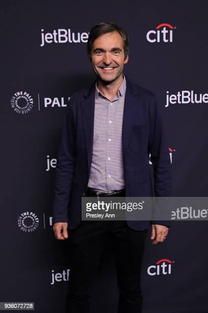 Steve Holland attends PaleyFest Los Angeles 2018 'The Big Bang Theory' and 'Young Sheldon' at Dolby Theatre on March 21 2018 in Hollywood California