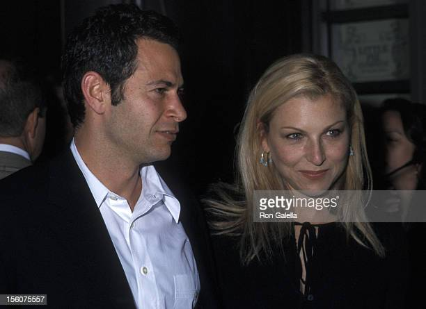 Steve Hutensky and Tatum O'Neal during Endeavor Agency and Talk Magazine Celebrate TV UpFront Week at Lotus in New York City New York United States