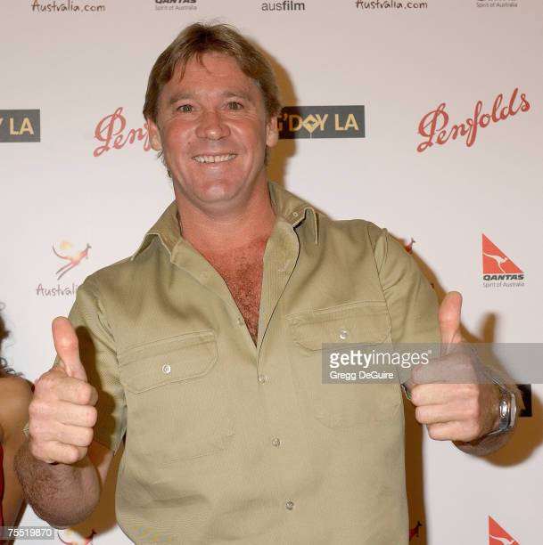 Steve Irwin at the in Hollywood, California
