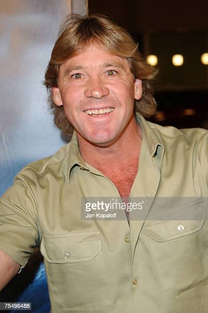 "Steve Irwin at the ""Master And Commander: The Far Side Of The World"" - Los Angeles Premiere at The Academy Of Motion Picture Arts And Sciences in..."