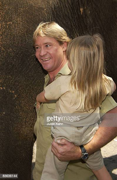 Steve Irwin & daughter Bindi Irwin