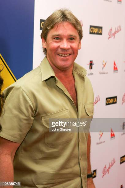 Steve Irwin during G'Day LA: Australia Week 2006 - Penfolds Icon Gala Dinner - Red Carpet in Los Angeles, California, United States.