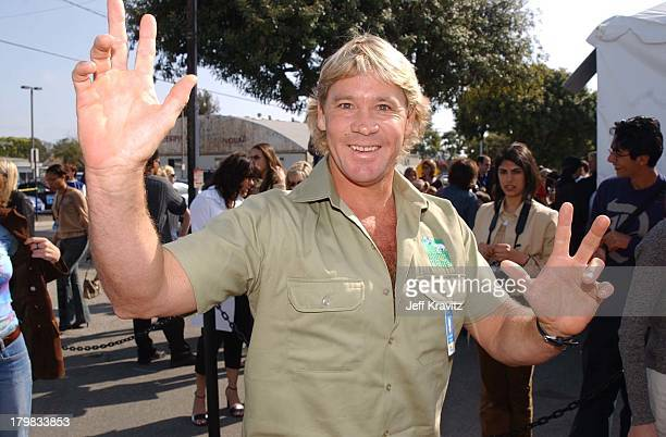 Steve Irwin during Kid's Choice Awards Arrivals in Santa Monica, California, United States.